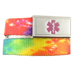 TieDye Medical ID Band - n-styleid.com