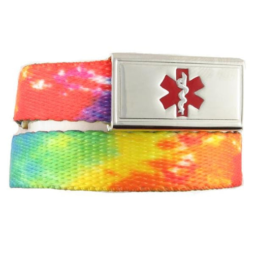 TieDye Medical ID Band