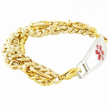 Triple Gold Plated Medical Bracelets - n-styleid.com