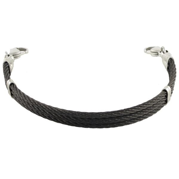 Triple Skyway Cable Bracelet - n-styleid.com