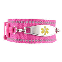 Universal Pink Medical Bracelet - n-styleid.com