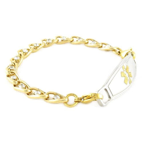 Valois Gold Medical Bracelets-FREE Engraving!