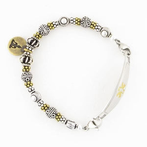 Zen Beaded Medical Bracelet - n-styleid.com