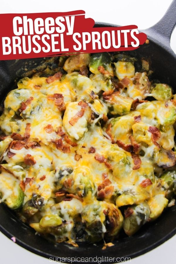 Cheesy Brussel Sprout Bake