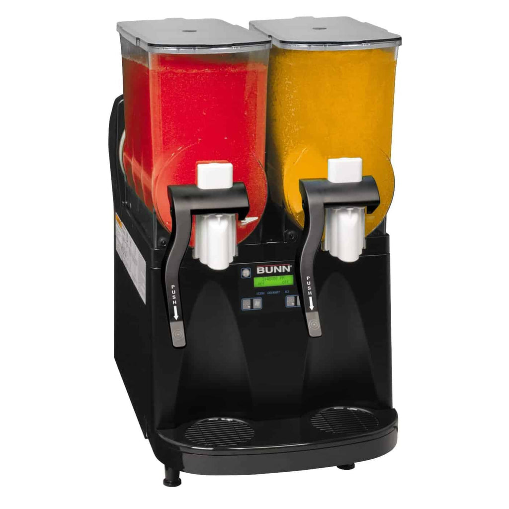 Slushy makers are a fantastic way to boost your sales in a restaurant or to mix your favorite smoothie, frozen cocktail, margarita, or slush