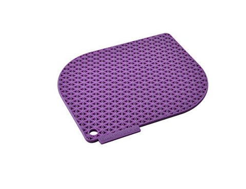 Charles Viancin Honeycomb Pot Holder - Purple