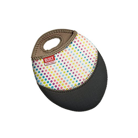 BUILT NY Neoprene Pot Holder, Candy Dot