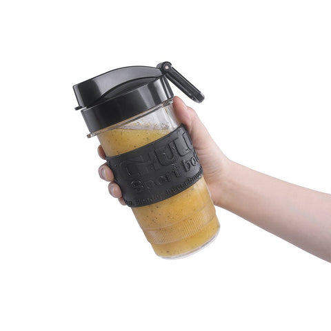 CHULUX Blender Cup Travel Sport Bottle with Carry Hook,14 Ounce