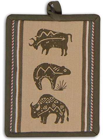 Kay Dee Designs Buffalo Southwest Woven Printed Potholder