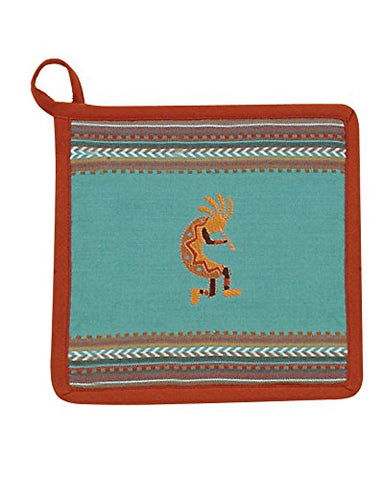 Kay Dee Designs Southwest Kokopelli Embroidered Potholder