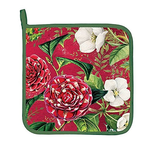 Michel Design Works APH292 Decorative Cotton Potholder, Christmas Day