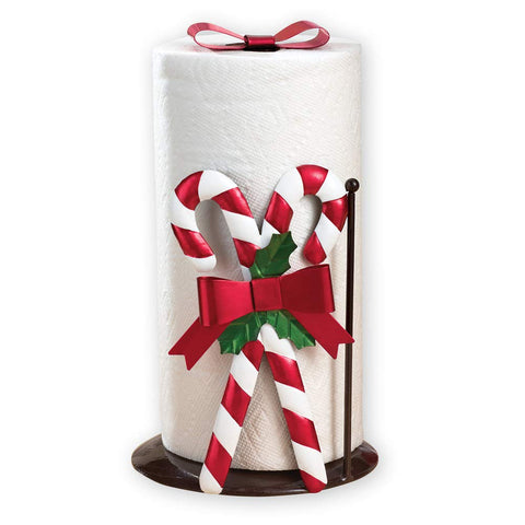 Christmas Kitchen Candy Cane Paper Towel Holder