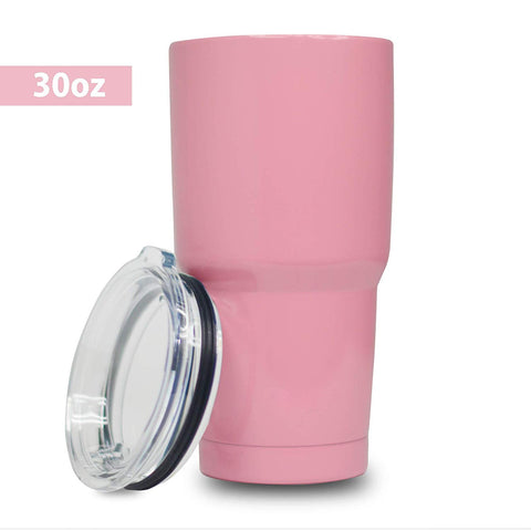 5 Star Stuff KING-4 20 oz Tumbler, 100% Stainless Steel Double Wall Vacuum Insulated Cup with Lid – Pink, 20oz