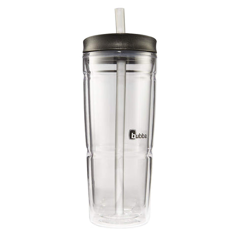 Bubba Envy Double Wall Insulated Straw Tumbler, 24 oz, Smoke