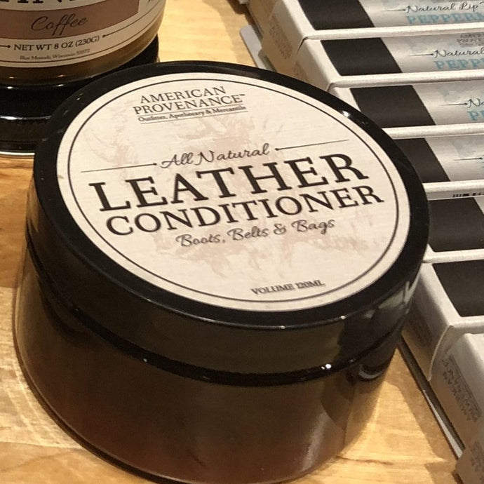 American Provenance Leather Conditioner