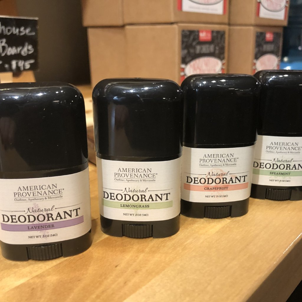 Natural Deodorant, Travel Size