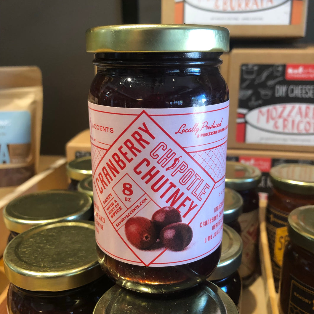 Cranberry Chipotle Chutney