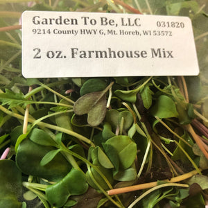 Farmhouse Mix Microgreens, 2 oz