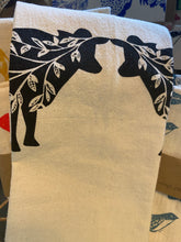 Load image into Gallery viewer, Hand Printed Cotton Kitchen Towel (28 x 29)