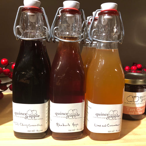 Quince & Apple Syrups