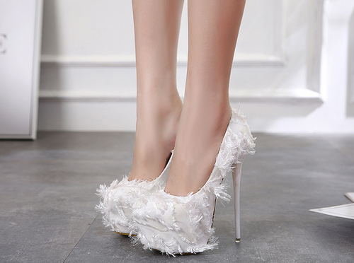 Super high-heeled nightclub shoe