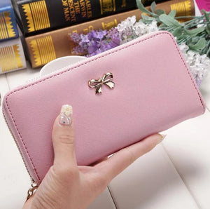 Ladies Wallet With Zipper