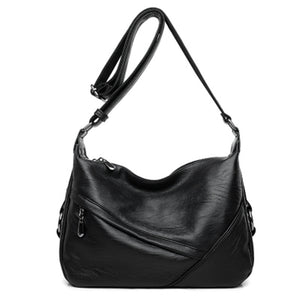 2020 new single shoulder bag with retro stitching