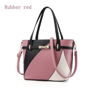 Three Tone Fashion Shoulder Bag