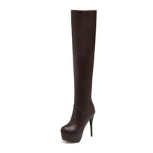 Load image into Gallery viewer, Thigh High Nightclub Long Boot With High Heel