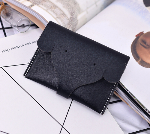 New tri-fold ladies wallet with elephant nose pattern
