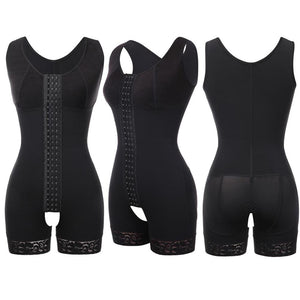 Full Body Shaper Waist Cincher Bodysuit