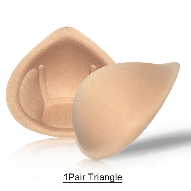 1 Pair Sponge Breast Forms Pad Cup Size XL Breast Enhancer