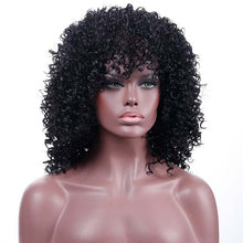 Load image into Gallery viewer, Brazilian Afro Kinky Curly Pre Plucked Wig