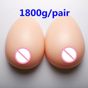 1800g/pair Transsexuals Silicone Artificial Breast