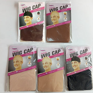 (6 bags) Quality Deluxe Wig Cap