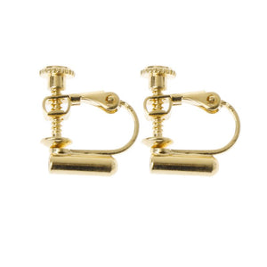 1 Pair Clip-On Earring Converters Turn Any Studs Into A Clip-On