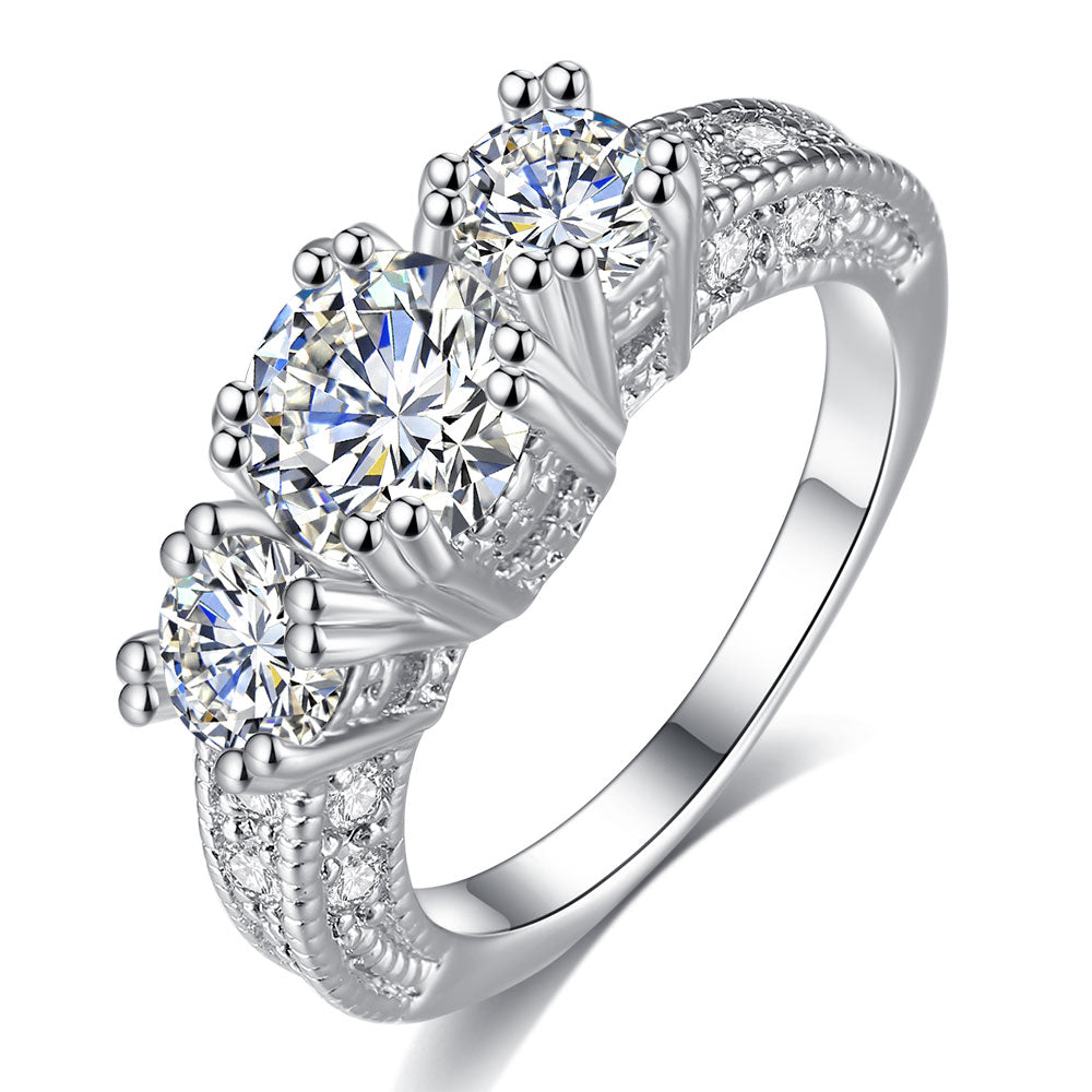 Ladies Costume Wedding Ring