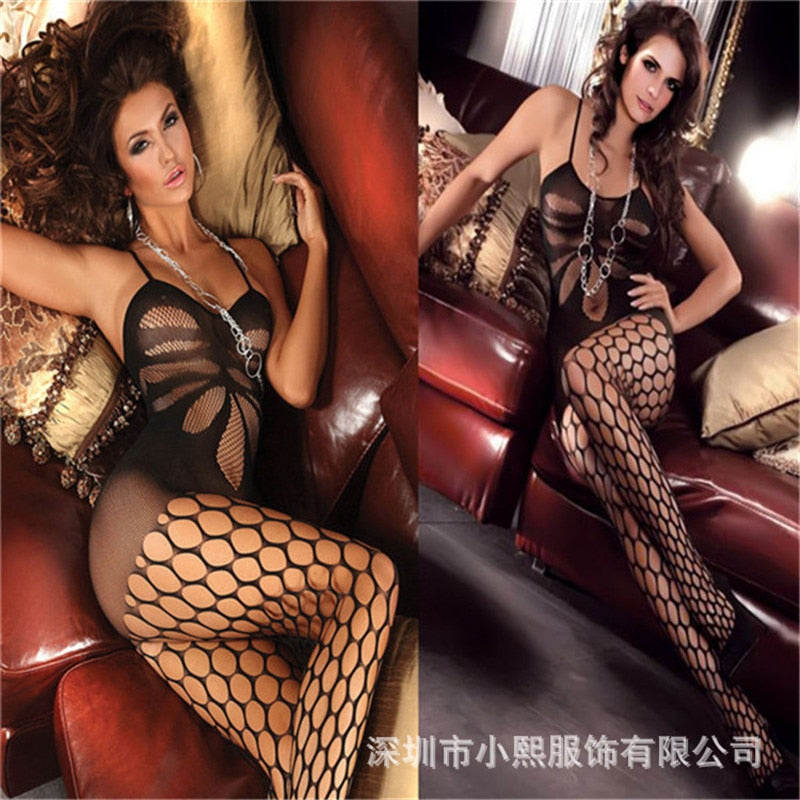 High Quality Sexy Fullbody Stocking Lingerie