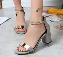 Load image into Gallery viewer, Ladies High Heels Sandals