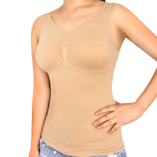 Load image into Gallery viewer, Shaper Slim Up Lift Plus Bra Cami Tank Top