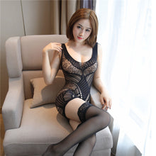 Load image into Gallery viewer, Erotic Lace Teddy Lingerie