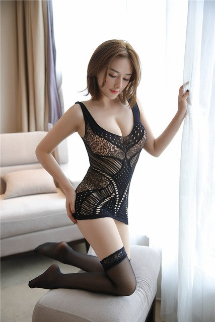 Erotic Lace Teddy Lingerie