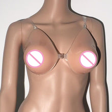 Load image into Gallery viewer, Realistic Feeling 600g to 1200g Adhesive Silicone Breast Forms For Crossdresser or Trans