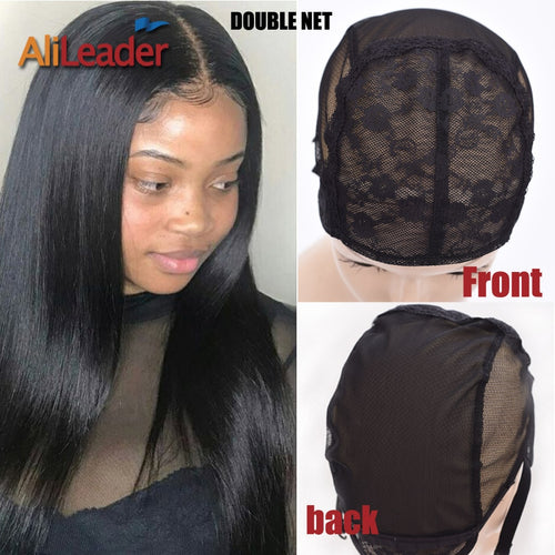 Top Selling Glueless Double Net Lace Wig Caps