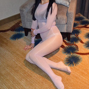 Women Crotchless Sheer Bodystocking