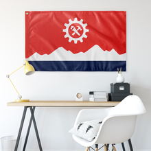 Load image into Gallery viewer, Syndicalist Norway Flag
