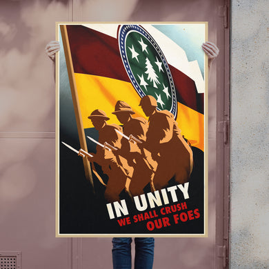Sir Madman - Democratic United front Poster