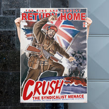 Load image into Gallery viewer, Kaiserreich - Dominion Of Canada Propaganda Poster - Return Home