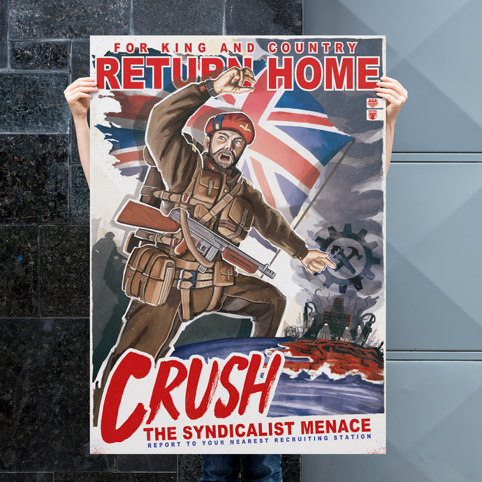 Kaiserreich - Dominion Of Canada Propaganda Poster - Return Home