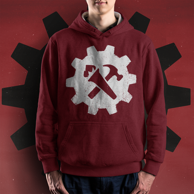 Syndicalist Gear Hoodie - Red